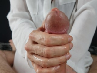 Relax with a long handjob