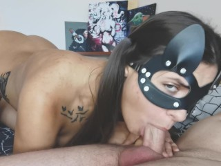 TRY not to CUM Gentle blowjob from a TEEN